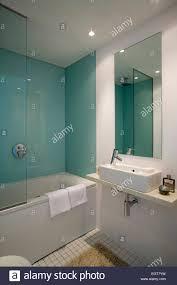 Interior Bathroom Design Manchester England UK Stock Photo - Bathroom design manchester