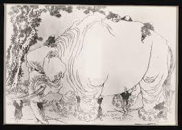 Blind Men And The Elephant Poem The Blind Men And The Elephant By Katsushika Hokusai Digital