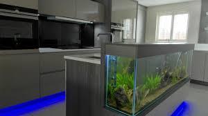 kitchen island fish tank fresh home design decoration beautiful