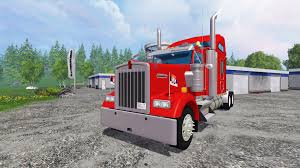 kenworth w900 kenworth w900 for farming simulator 2015