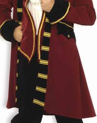 colonial halloween costume pirate captain morgan hook colonial patriot mens fancy halloween