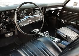 1969 Chevelle Interior 1969 Chevrolet Chevelle Ss 396 L78