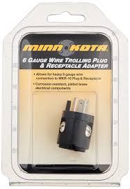 amazon com minnkota mkr 18a 6 ga wire adapter electric