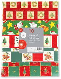 wrapping paper sheets 30 sheets of christmas gift wrapping paper each sheet of