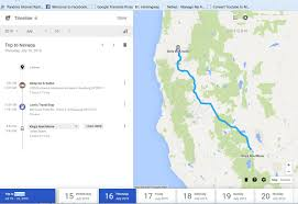 Roseburg Oregon Map Tracking Your Trips With Google Timeline Ace U0027s Forgotten Places