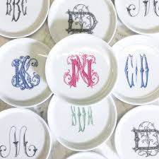 monogrammed dishes coaster with monogram place setting dinnerware and tablewares