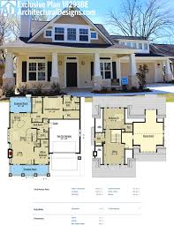 architectural design home plans plan 18293be storybook bungalow with bonus the garage