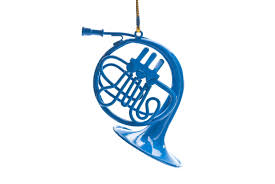 blue horn ornament how i met your