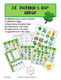 s day bingo free st s day bingo 24 cards a hughes design tpt