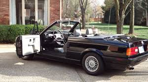 1993 bmw e30 convertible top auto manual up and down operation