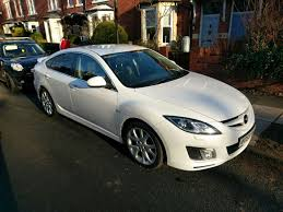 mazda 2009 2009 mazda 6 sport 2 2 pearl white 12mths mot black leather in