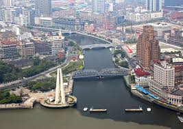shanghai china wallpapers wallpapers shanghai china megalopolis canal bridges from above