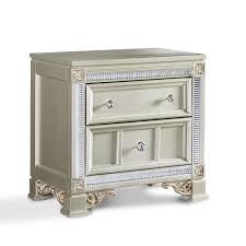 Nightstand Dimensions Standard Tiffany Bedroom Set U2013 Adams Furniture