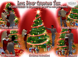 marketplace love story christmas tree cuddles