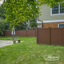 16 gorgeous brown illusions vinyl fence images illusions vinyl fence
