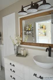 farmhouse master bathroom reveal vintage farmhouse master