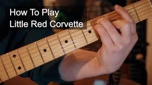 corvette chords corvette chords prince guitar tutorial