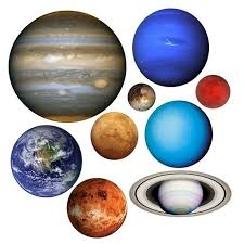 Planets Of Our Solar System Vinyl Wall Decal Set By WilsonGraphics - Hanging solar system for kids room