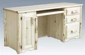 Furniture Unpolished Oak Wood Computer Desk Placed On Light Gray by Unfinished Wood Desk With Hutch Photos Hd Moksedesign