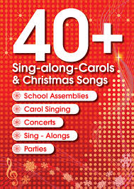 40 sing along carols u0026 christmas songs book and music cds