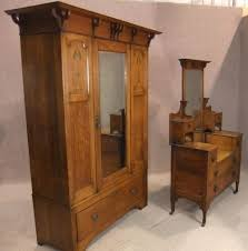 Arts And Craft Bedroom Furniture Oak Arts Crafts Bedroom Suite Antiques Atlas