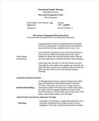 therapy note templates 6 free word pdf format download free