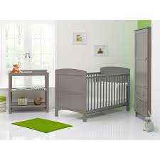 Cot Bed Nursery Furniture Sets by Buy Obaby Grace 3 Piece Furniture Set Taupe Grey Preciouslittleone