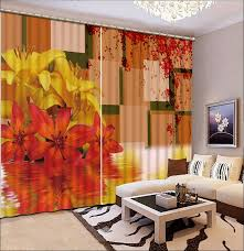 Bright Colored Kitchen Curtains Bright Colored Curtains Curtains Yellow And Brown Living Room