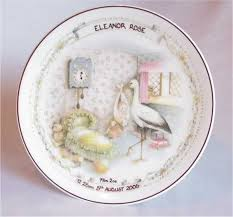 birth plates personalised baby birth plate china birth plate