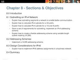 instructor materials chapter 8 subnetting ip networks ppt download