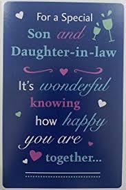 Wedding Wishes Hallmark Amazon Com Hallmark Son And Daughter In Law Wedding Card U0026quot