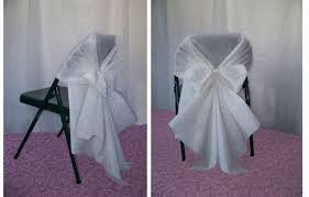 chair cover ideas captivating white folding chair covers with white folding chair