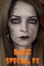 blushing basics special fx halloween tutorial step by step video