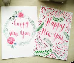 new year photo card 35 lovely diy new year card ideas for the ones who crafting