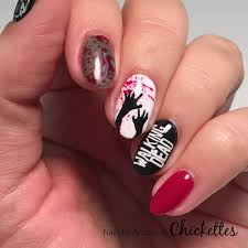 haunted nail designs for halloween u2013 chickettes soak off gel