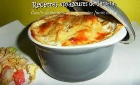 cuisiner des saucisses fum馥s cocotte de pommes de terre saucisse fumée cantal recettes