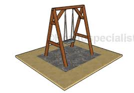 a frame swing plans howtospecialist how to build step by step
