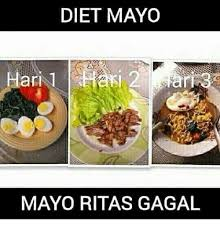 Meme Diet - diet mayo mayo ritas gagal dieting meme on me me