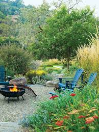 ideas for fire pits sunset
