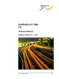 surpass hit 7060 technical manual computer network network switch