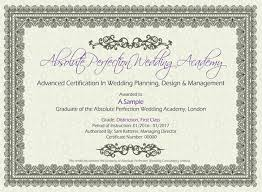 wedding planner certification course wedding planner courses ap wedding planning academy
