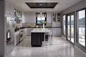 grey paint number one request in kitchen cabinets says merillat