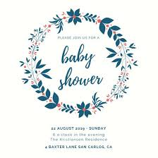 baby shower invite customize 334 baby shower invitation templates online canva