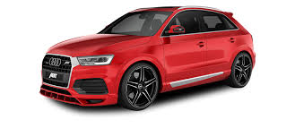 audi q3 modified tuning by abt sportsline for all audi q3 models