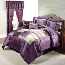 bedding ideas chic modern purple bedding bedroom decoration