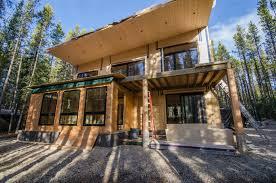 rocky mountain cabin stark architecture ltd