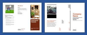 microsoft online brochure templates brochure designs business