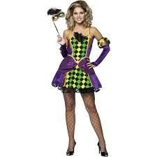 Halloween Joker Costume Mardi Gras Queen Costume Buycostumes Com