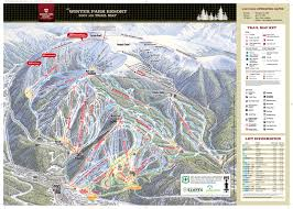 Colorado Springs Trail Map by Winter Park Resort Skimap Org