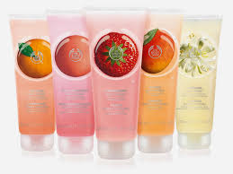 the body shop presents sorbet refreshment from top to toe